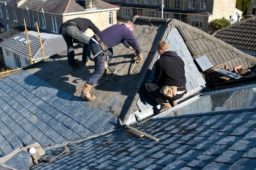 Tesla Roof Installation